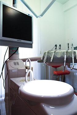 studio dentistico sala azzurra